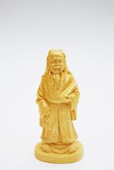Golden Fengshui Statue