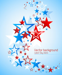 Labor day vector background