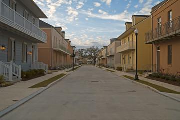 Wohngebiet in New Orleans
