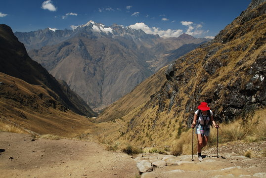 Chemin de l'inca du Machu Picchu