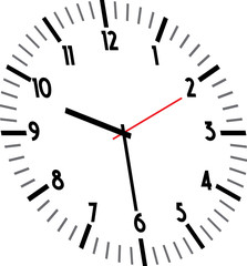 Vector of  watch icon
