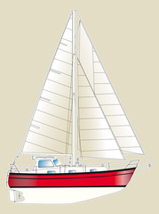 Sailboat plan