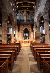Wolverhampton - St. Peter's Collegiate church