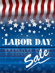 Labor Day sale in the usa Holiday