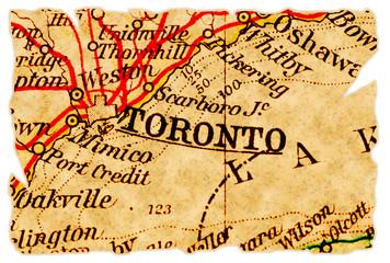 Toronto old map