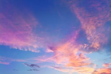 sky full of clouds