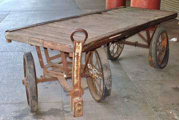 Abandoned Pull Cart