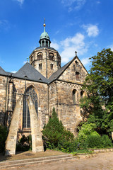 Münster St. Bonifatius in Hameln, Deutschland