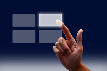Touch screen Hand