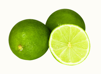 Two limes and half