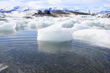 Gletscher und Eis