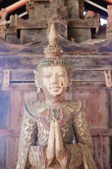 Buddhist statue.