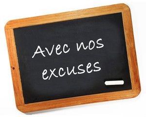 Aves nos excuses