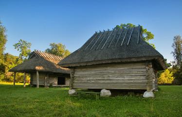 Aged fisherman's barn