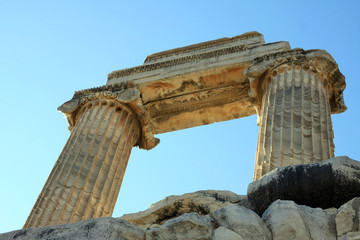 The Temple of Apollo in antique city of Didyma, Aydin