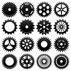 Machine Gear Wheel Cogwheel