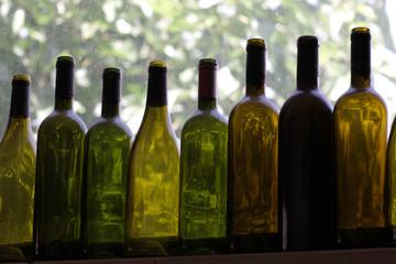 Eight bottles