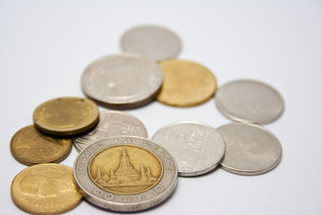 picture of coins from thailand