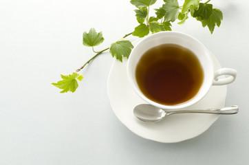 紅茶とアイビー