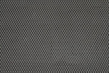 Black plastic background symmetric pattern