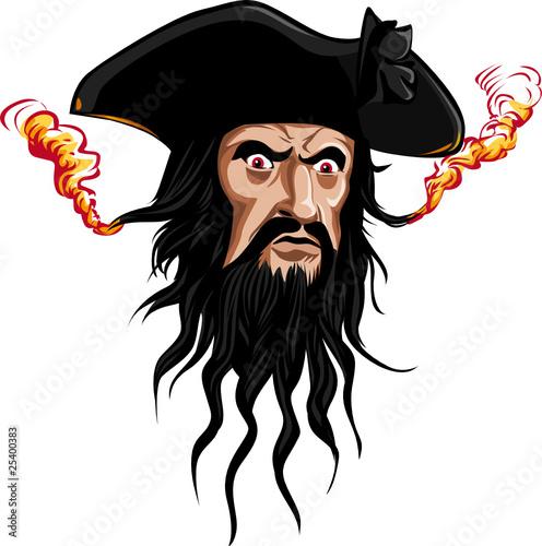 Blackbeard pirates logo