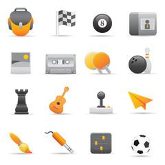 Entertainment Icons | Yellow 02