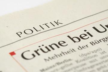 Politik Newspaper