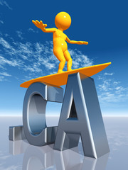 CA Top Level Domain of Canada