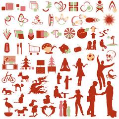 logos und icons- sammlung