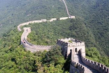 The Great Wall of China between Jiankou and Mutianyu.