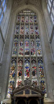 Bath Abbey Stained Glass Window