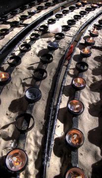 Bath Abbey Candles