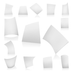 VECTOR white paper poses