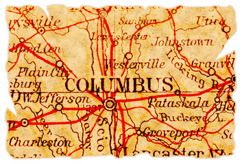 Columbus old map