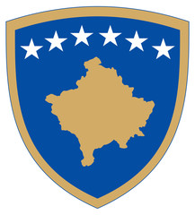 Wall Mural - Kosovo Coat of Arms