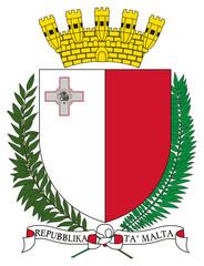 Wall Mural - Malta Coat of Arms