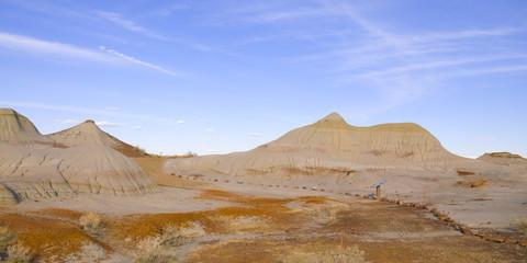 Badlands in Dinosaur Provincial Park