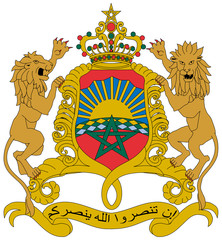 Wall Mural - Morocco Coat of Arms