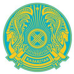 Fototapete - Kazakhstan Coat of Arms