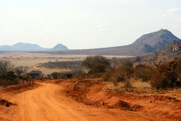 Tsavo-Ost Nationalpark in Kenia