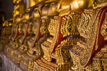 golden thai pattern