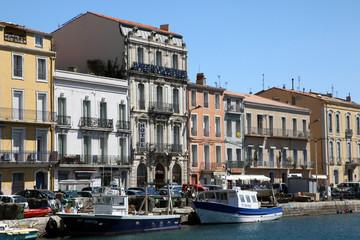 Sete on the Mediterranean