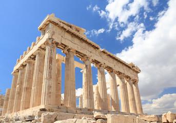 Parthenon in the Acropolis, Athens, Greece