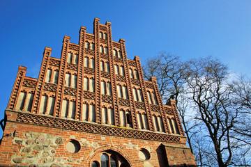 Westfassade der Stiftskirche in Heiligengrabe (Brandenburg)