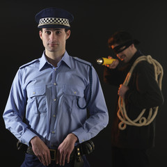 Policeman and thief