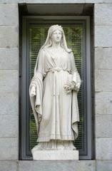 Estatua alegorica de la magnificencia