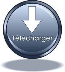 bouton télécharger