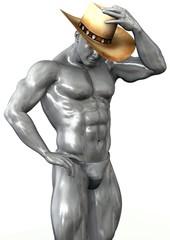 silver cowboy