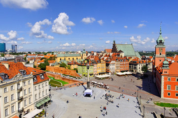 old city in warsaw