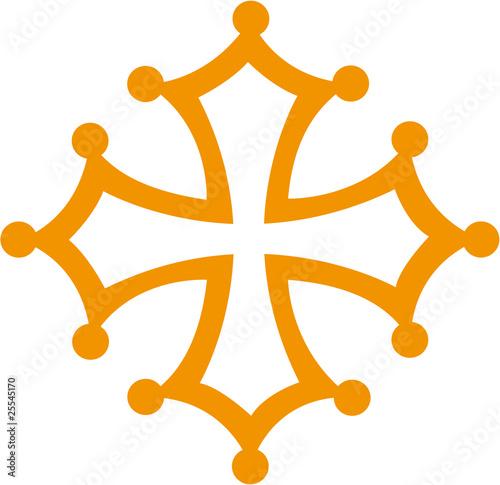 """Favori Croix occitane"""" fichier vectoriel libre de droits sur la banque d  IL49"""